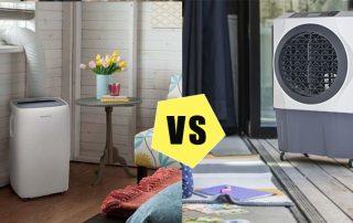 Air cooler portable vs AC portable