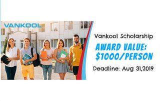 Vankool Scholarship