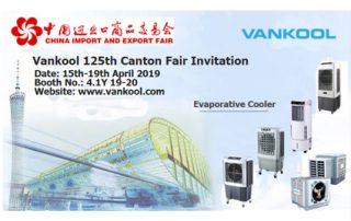 Welcome to visit Vankool at Canton Fair 2019