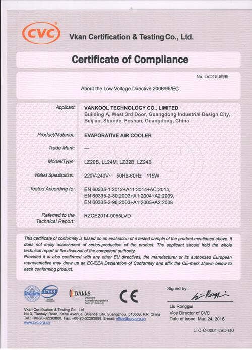 LVD Compliance